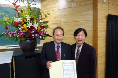 日本アメリカ文学会賞を受賞された渡邉克昭氏(大阪大学)